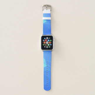Abstract & Clean Geo Designs - Poseidon Trident Apple Watch Band