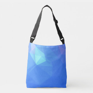 Abstract & Clean Geo Designs - Poseidon Trident Crossbody Bag