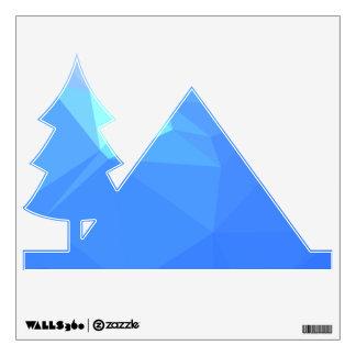 Abstract & Clean Geo Designs - Poseidon Trident Wall Sticker