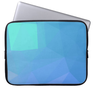 Abstract & Clean Geo Designs - Seashell Gully Laptop Sleeve