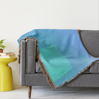 Abstract & Clean Geo Designs - Seashell Gully Throw Blanket