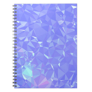 Abstract & Clean Geo Designs - Shining Mist Notebooks