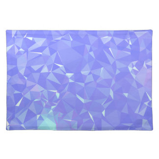Abstract & Clean Geo Designs - Shining Mist Placemat