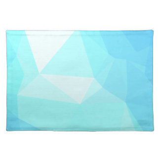Abstract & Clean Geo Designs - Skyloft Winter Placemat
