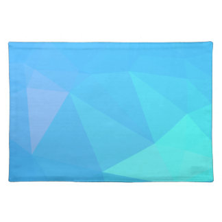 Abstract & Clean Geo Designs - Snowflake Topaz Placemat