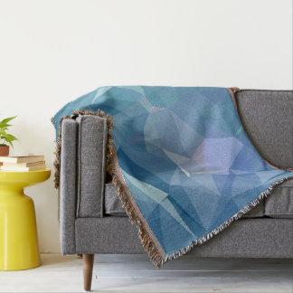 Abstract & Clean Geo Designs - Tidal Wave Throw Blanket