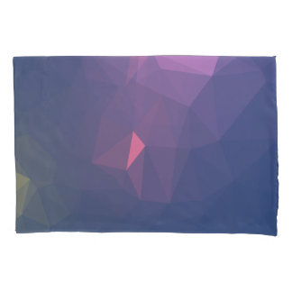Abstract & Clean Geo Designs - Topaz Sunset Pillowcase