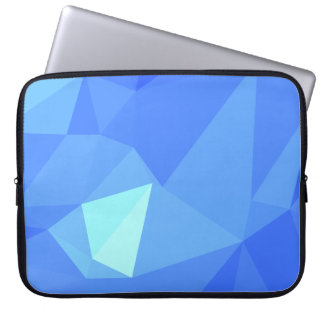 Abstract & Clean Geo Designs - Whale Charm Laptop Sleeve