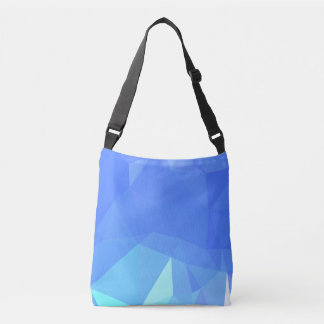 Abstract & Clean Geometric Designs - Skyscraper Crossbody Bag
