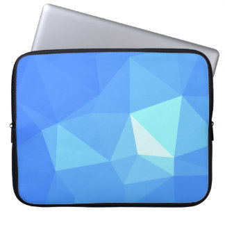 Abstract & Clean Geometric Designs - Water Twinkle Laptop Sleeve