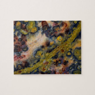 Abstract close up of Ocean Jasper Jigsaw Puzzle