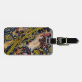 Abstract close up of Ocean Jasper Luggage Tag