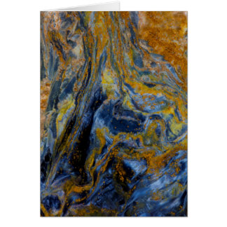 Abstract Close up of Pietersite Card
