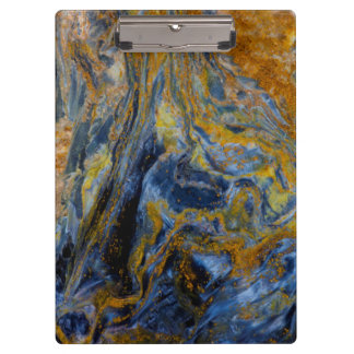 Abstract Close up of Pietersite Clipboard