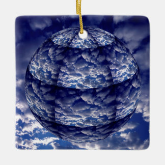 Abstract cloud 3D sphere