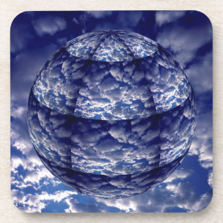 Abstract cloud 3D sphere Coaster