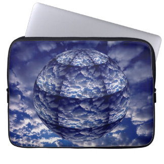 Abstract cloud 3D sphere Laptop Sleeve