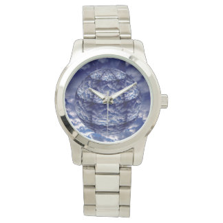 Abstract cloud 3D sphere Watches
