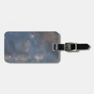 Abstract Clouds Luggage Tag