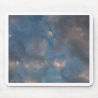 Abstract Clouds Mouse Pad