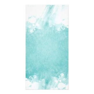 Abstract Clouds Picture Card