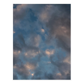 Abstract Clouds Postcard
