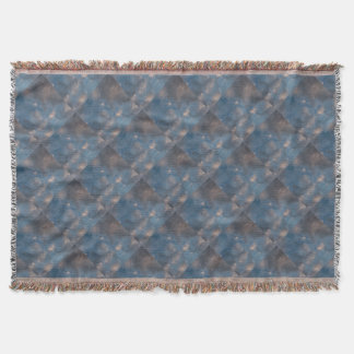 Abstract Clouds Throw Blanket
