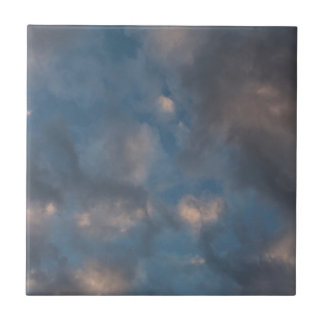 Abstract Clouds Tile