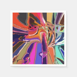 Abstract Clown Abstract Paper Napkins