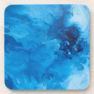 "Abstract Coasters Set of 6 ""Flashing"""