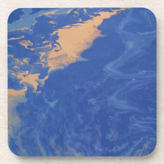 "Abstract Coasters Set of 6 ""Meandering"""