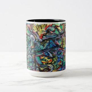 Abstract Coffee or Tea Mug by ValAries