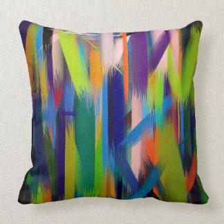 Abstract Color Art #9 Throw Pillow
