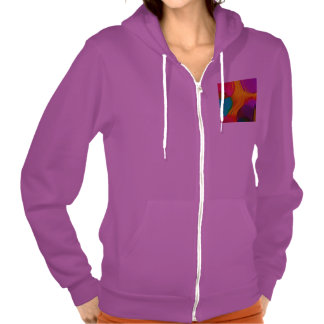 abstract color parade (L) Hooded Pullovers