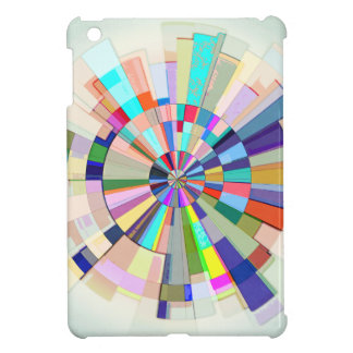 Abstract Color Wheel Cover For The iPad Mini