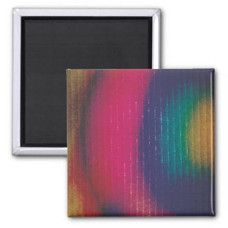 Abstract Colored Cardboard Fridge Magnets