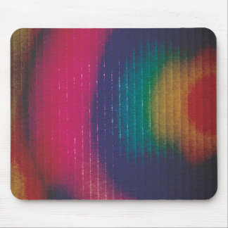 Abstract Colored Cardboard Mouse Pads