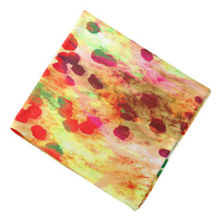 Abstract Colored Dots Background Bandana