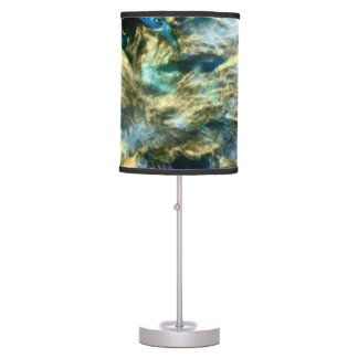 Abstract Colorful Artful Photograph Table Lamp