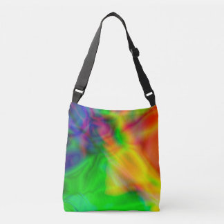 Abstract colorful bag
