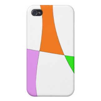 Abstract Colorful Balloons Case For The iPhone 4