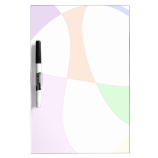 Abstract Colorful Balloons Dry Erase Board