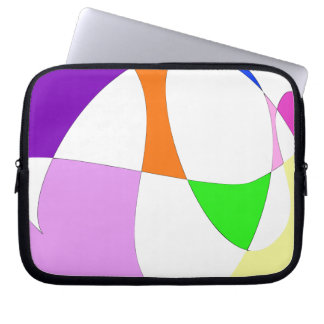 Abstract Colorful Balloons Laptop Sleeve