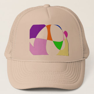 Abstract Colorful Balloons Trucker Hat