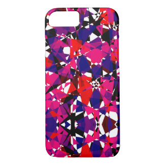 Abstract Colorful Broken Fragment iPhone 8/7 Case