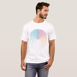 Abstract colorful circle Man shirt