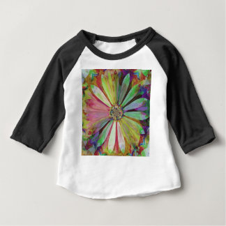 Abstract Colorful Daisy2 Baby T-Shirt