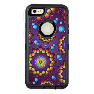 Abstract Colorful Flowers Pattern OtterBox iPhone 6/6s Plus Case