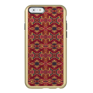 Abstract colorful hand drawn curly pattern design incipio feather® shine iPhone 6 case