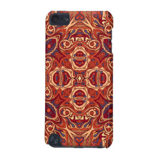 Abstract colorful hand drawn curly pattern design iPod touch (5th generation) cover